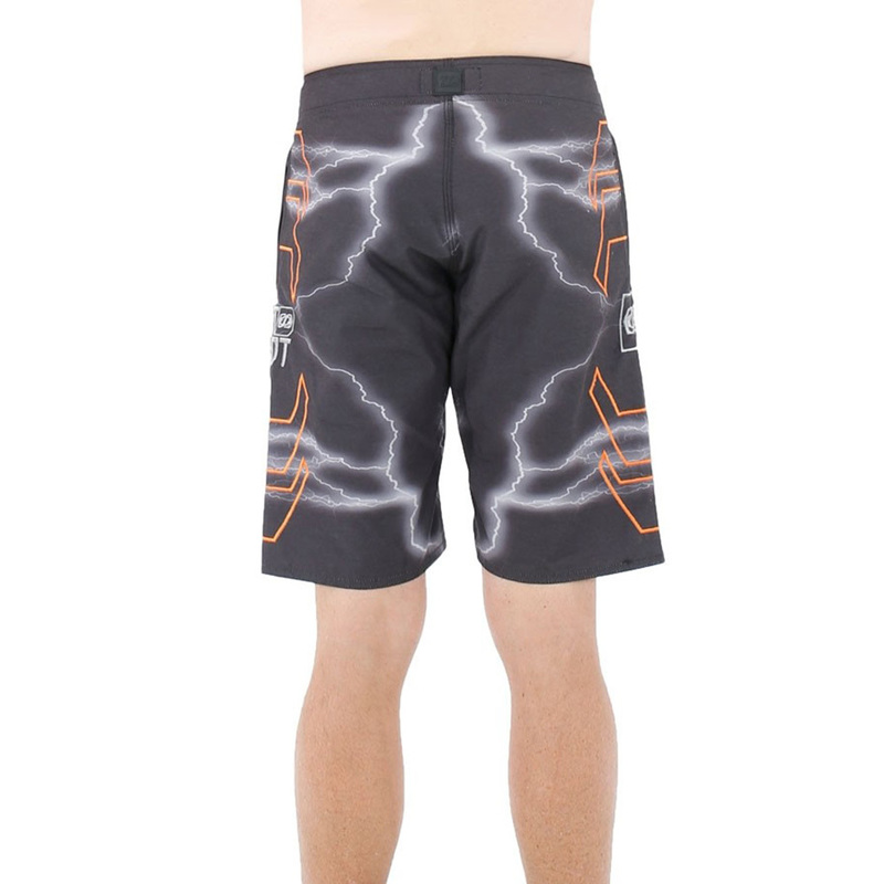 Jetpilot Strike Black/Orange Mens Boardshorts