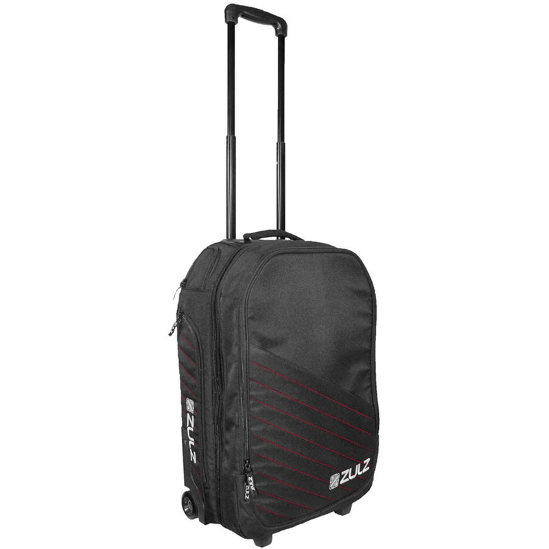 Zulz Primetime Black/Red Travel Bag