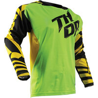 Thor Fuse Dazz Green/Yellow Jersey
