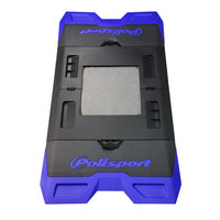 POLISPORT FOLDABLE BIKE MAT - BLUE/BLACK