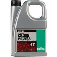 Motorex Cross Power 4T 10W/60 - 4 Litre