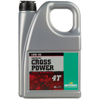 Motorex Cross Power 4T 10W50 - 4 Litre