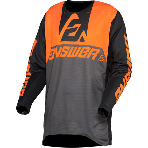 Answer Trinity Voyd Charcoal/HyperOrange/Black Jersey