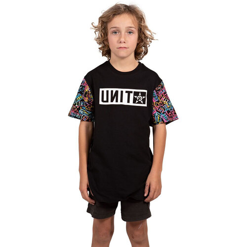 Unit Trinity Black Kids Tee