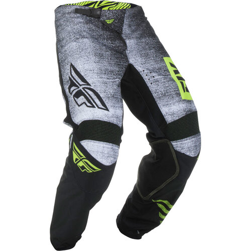Fly Racing Kinetic Noiz Black/Hi-Vis Kids Pants