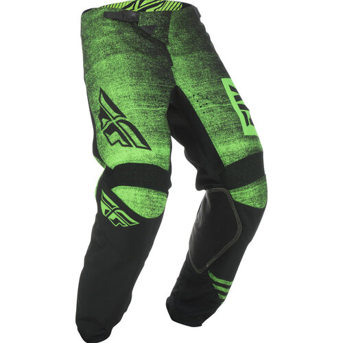 Fly Racing Kinetic Noiz Neon Green Kids Pants