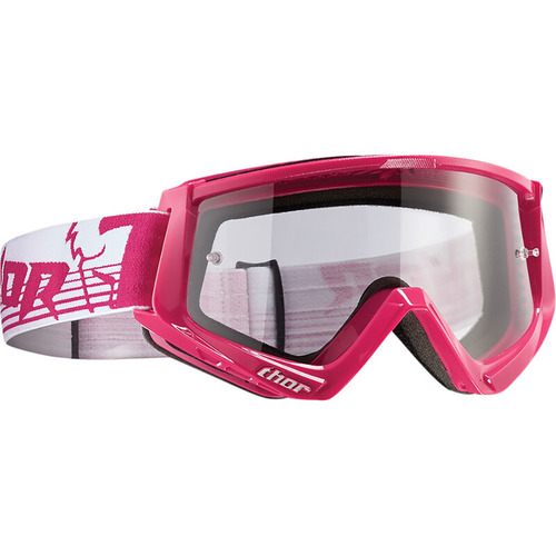 Thor Conquer Pink/White Goggles