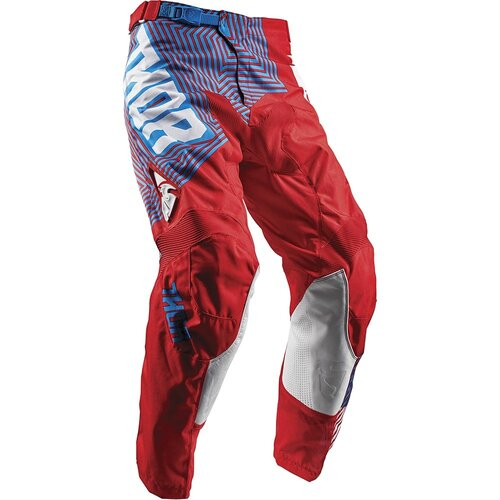 Thor Pulse Geotec Red/Blue Kids Pants