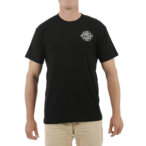 Jetpilot Showtime Black Mens Tee