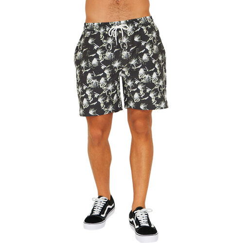 LKI Bottle Rocket Black Spark Mens Shorts